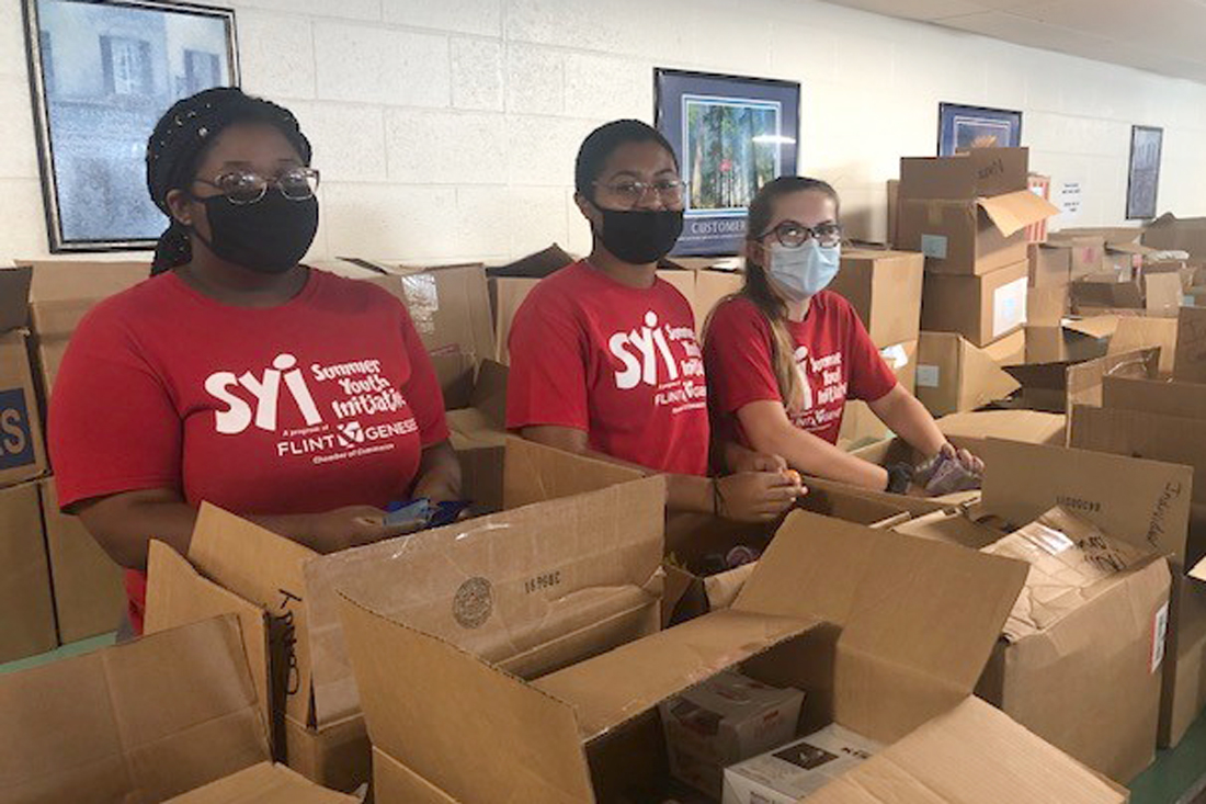Summer Youth Initiative at Catholic Charities' North End Soup Kitchen